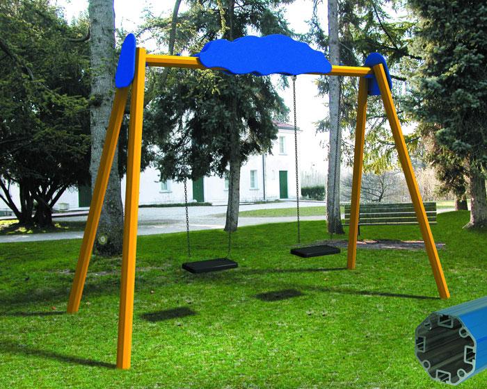 Giochi da giardino  da 0 a 12 anni divertimento in sicurezza: Mobiespans